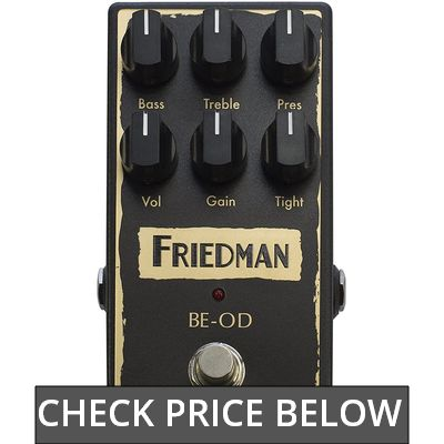 Friedman Amplification BE-OD Overdrive review