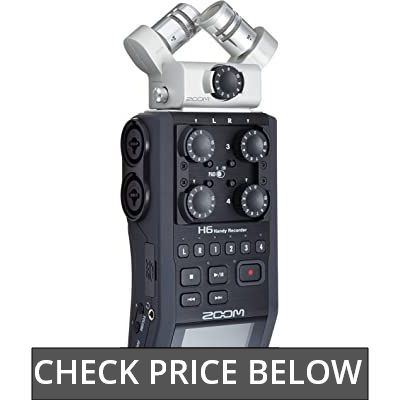 Zoom H6 6-Track Portable Recorder review